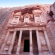 Stock Photo: Imposing Monastery in Petra, Jordan