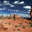 Stock Photo: Arches National Park near Moab, Utah