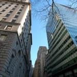 New York skyscrapers in Manhattan, USA — Stock Photo