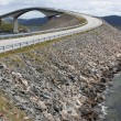 Storseisundet Bridge on the Atlantic Road in Norway — Stock Photo #38764037