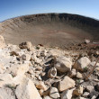 Meteor impact crater Winslow ArizonUSA — Stock Photo #38764051