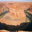 View of the Horseshoe bend in Utah, USA — Stock Photo