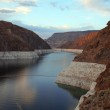 Lake in canyon at Hoover Dam, Nevada, USA — Stock Photo #38764299