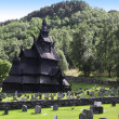 Stock Photo: Borgund Stave church.