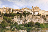 General view of Cuenca town in the morning. Castilla-La Mancha, Spain — Stock Photo
