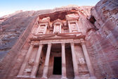 Imposing Monastery in Petra, Jordan — Stock Photo