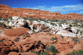 Rock formation in Arches National Park, Utah, USA — Stockfoto