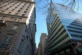 New York skyscrapers in Manhattan, USA — Foto Stock