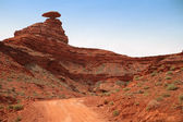 Mexican Hat mt in Utah, USA — Stock Photo