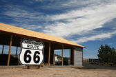 Route 66 Roadsign, USA — Stock Photo
