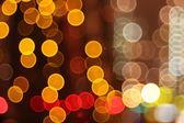 Abstract lights, flash circle, night city — Stock Photo