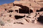 Petra Nabataeans capital city (Al Khazneh), Jordan — Stock Photo