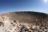 Meteor impact crater Winslow Arizona USA — Stock Photo