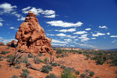Arches National Park near Moab,USA — Stock Photo