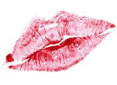 Beautiful red lips — Stock Photo