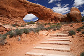 Arches National Park near Moab, Utah — Stock Photo