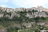 General view of Cuenca town in the morning. Castilla-La Mancha, — Стоковое фото