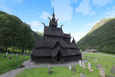 Borgund Stave church. — Stock Photo
