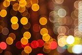 Abstract lights, flash circle, night city — Foto de Stock