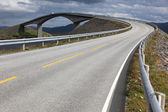 Atlantic Road in Norway — 图库照片