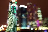 Nueva york estatua de la libertad — Foto de Stock