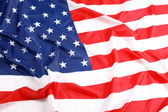 Close up USA flag — Stock Photo