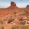 Monument Valley, desert canyon in Utah, USA — Stock Photo