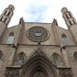 Facade of Santa Maria del Mar Church in Barcelona, Spain — Stock Photo #40218783