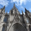 Stock Photo: BarcelonCathedral in Catalonia, Spain