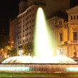 Stock Photo: Montjuic Fountain in Barcelona, Spain