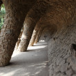 Park Guell in Barcelona, Spain. — Stock Photo #40219485