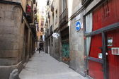 Streets of Barcelona — Stock Photo
