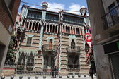 Famous Casa Vicens designed by Antoni Gaudi. Landmark in Barcelona, Spain. — Stock Photo