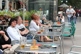 Street cafe of Barcelona — Stock Photo