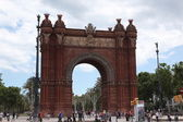 Arco del Triunfo Barcelona — Stock Photo