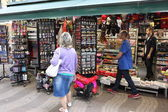Winkelen in barcelona — Stockfoto