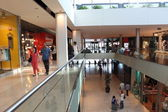 Interior view of Shopping center Las Arenas in Barcelona. — Stock Photo