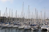 Barcelona marina — Stock Photo