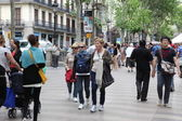 Shopping in Barcelona — Stock Photo