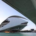 City of arts and sciences, Valencia, Spain — Stock Photo