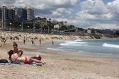 Beach in Tarragona, Spain — Stock Photo