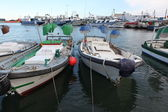 Boats in Tarragona marina, Spain — Stock Photo
