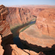 horseshoe bend — Stock Photo