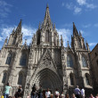 Стоковое фото: Cathedral of Holy Cross and Saint Eulalia