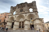 Gothic cathedral in Cuenca — Stock Photo
