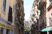 Residential district of Barcelona — Stock Photo