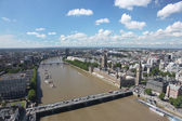 Panoramic view of London — Stock Photo