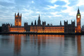 Big Ben and House of Parliament — Stock Photo