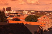View on roof tops in Oslo, Norway — Stock Photo