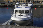 Boats in Trondheim, Norway — Stock Photo